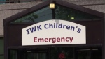 A boy jumped out of a moving car in New Glasgow on Tuesday. The boy was taken to the IWK Health Centre in Halifax and boy's mother refused to leave the emergency room until someone would help.