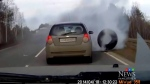 Wheels on vehicles deliberately loosened