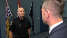 One-on-one interview with VPD on allegations