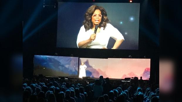 Oprah, WInfrey, Calgary, Saddledome