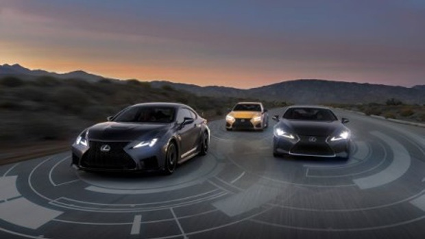 Lexus vehicles