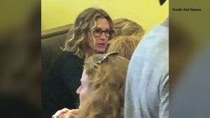 Julia Roberts was spotted at a Winnipeg restaurant.