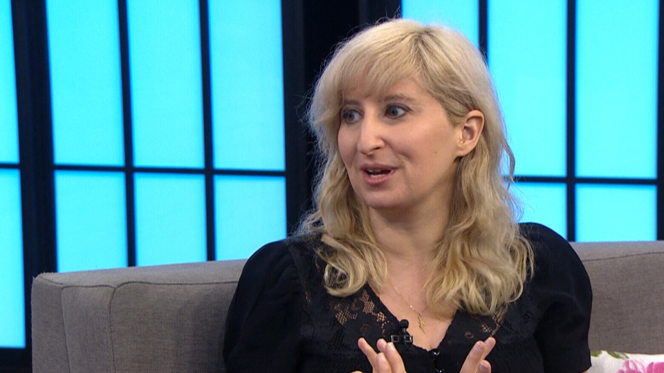 Author Gabrielle Moss spoke to CTV about her new book on Thursday morning.