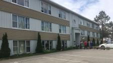 Miramichi apartment building