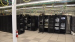 A server room at YesUp Media, based in Toronto. (Source: OPP)