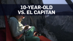 10-year-old girl climbs one of the hardest peaks