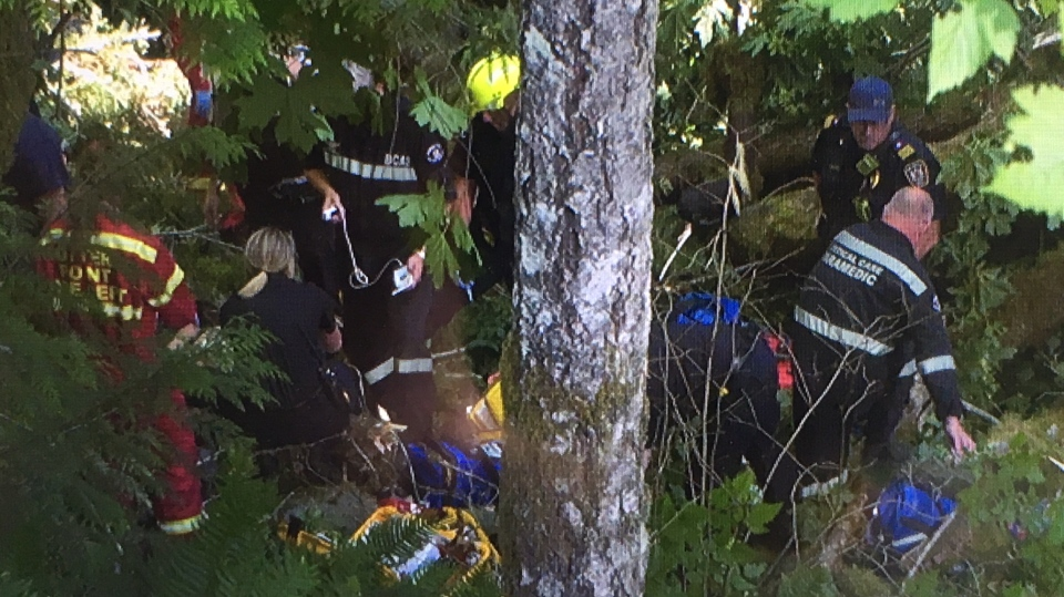 One student was killed and another was rushed to hospital in critical condition. (CTV Vancouver Island)