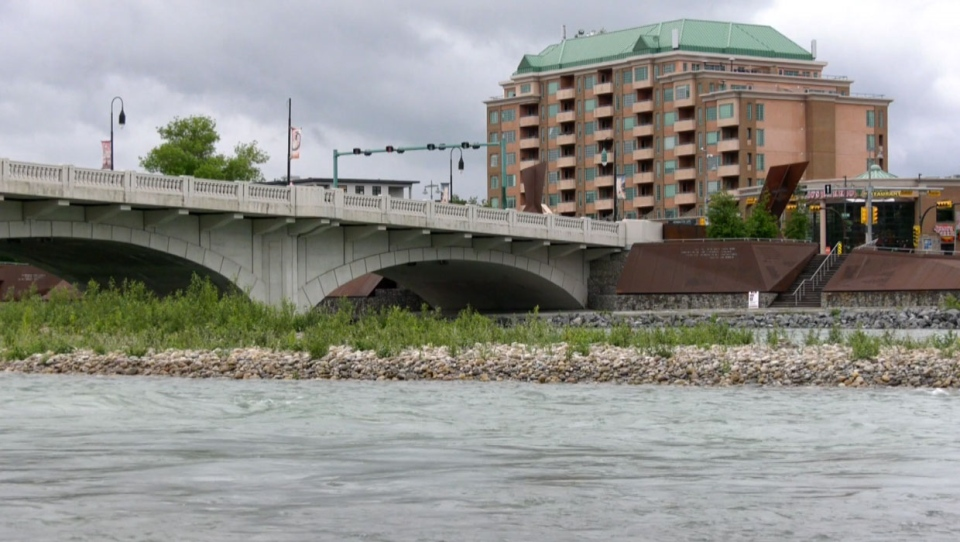 Authorities say residents also need to stay away from river banks because the fast moving water could cause rapid erosion.