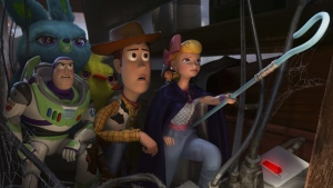 A scene from the movie 'Toy Story 4.' (Disney / Pixar via AP)