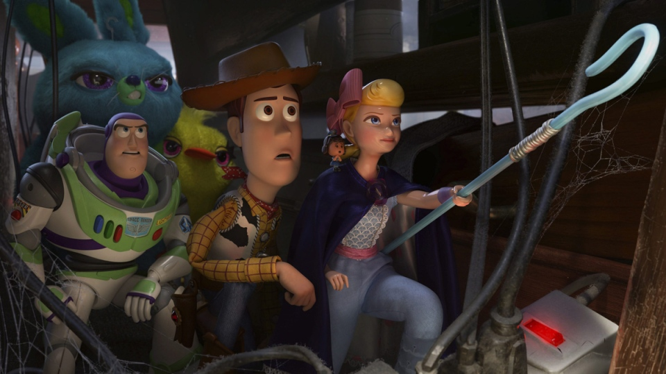 A scene from the movie 'Toy Story 4'