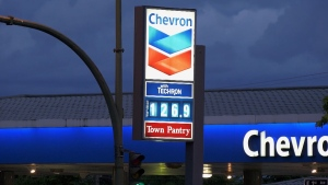 A Chevron at First Avenue and Rupert offered drivers some brief relief late Wednesday, June 19, 2019.