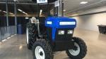 The Solectrac on display at Canada's Farm Progress show. (Cole Davenport/CTV Regina)