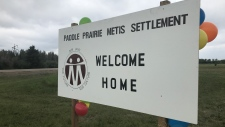 Paddle Prairie welcome home