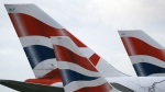 In this file photo dated Tuesday, Jan. 10, 2017, British Airways planes are parked at Heathrow Airport in London. (AP Photo/Frank Augstein, FILE)