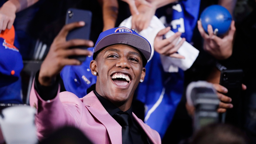 Basketball celebrations in Canada continue as record set at NBA Draft