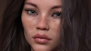 Computer generated model Daisy Paige