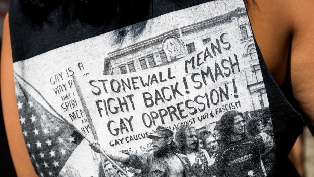50th the Stonewall Inn in that sparked the modern gay