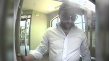 Lethbridge police are looking for the public's help to identify this man in connection with an alleged theft on June 13. (LPS)