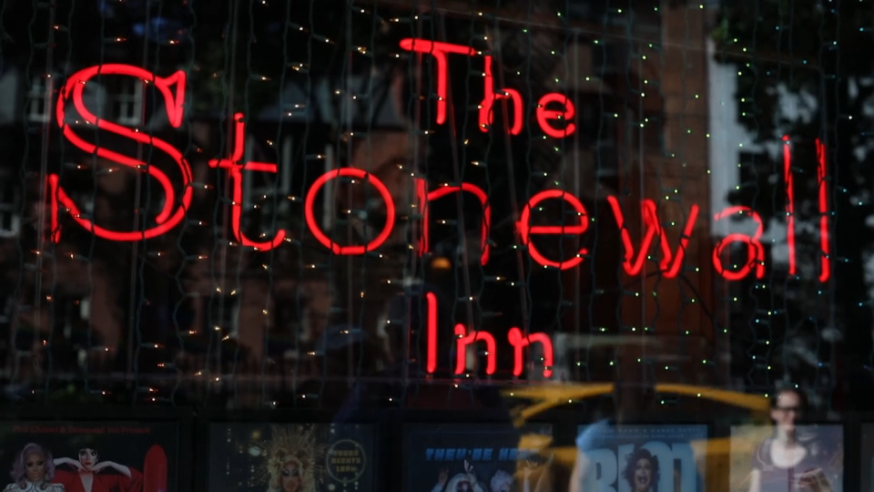 In this video still, the Stonewall Inn in New York City is pictured. (The Associated Press)