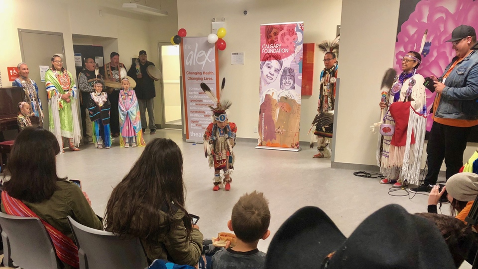 More than 100 people gathered at The Alex for a celebration of Indigenous culture.