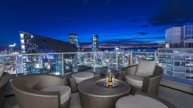 Cordova Street penthouse for sale