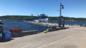 The wharf in Penetanguishene on June 21, 2019 (Aileen Doyle/CTV Barrie)