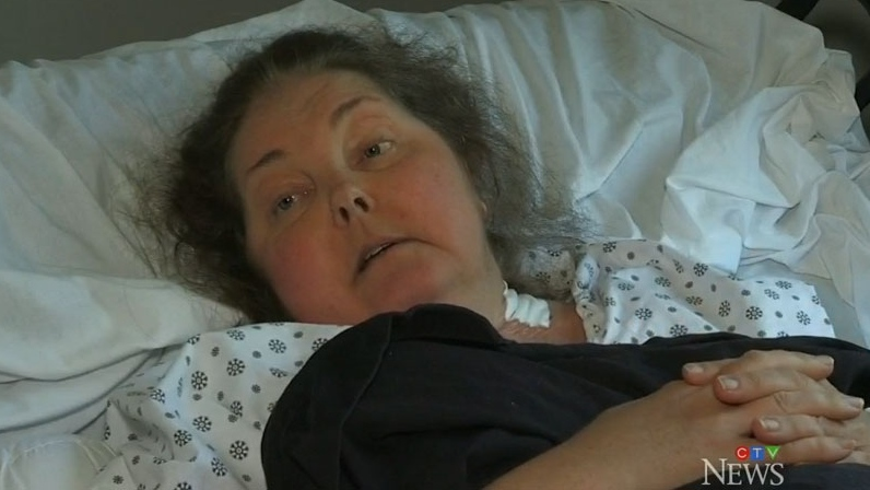Kitchener, Ont. resident Shirley Duff, diagnosed with stage four metastatic breast cancer last January, fell ill after a blockage in her catheter caused an infection just two days into a cruise destined for Nassau.
