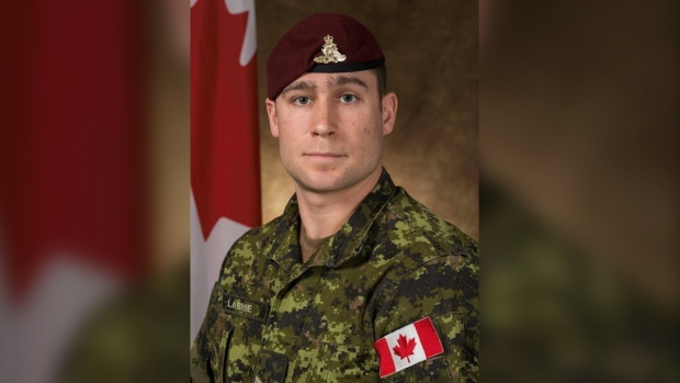 Canadian soldier's remains returning home tonight after fatal parachute exercise