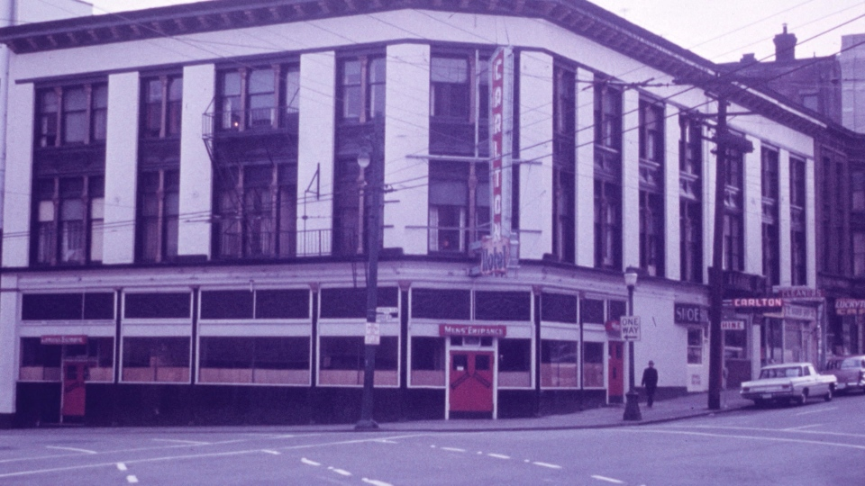 The Cambie Pub building is seen in this file photo from the 1950s.