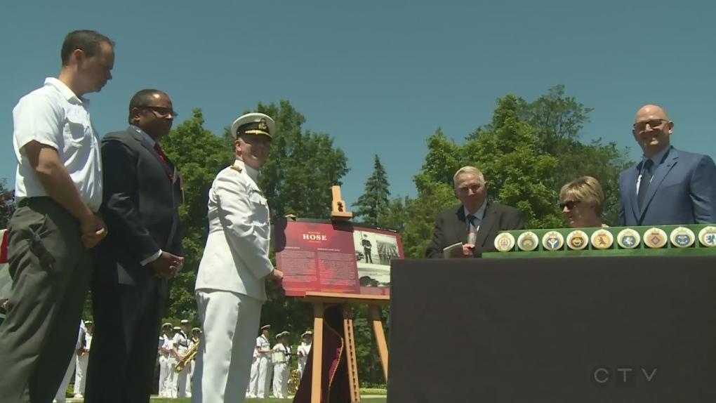 Late Windsor naval leader celebrated as a 'Hometown Hero'