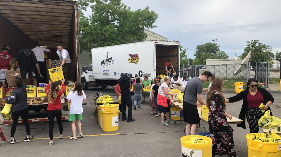 Multi-faith food drive