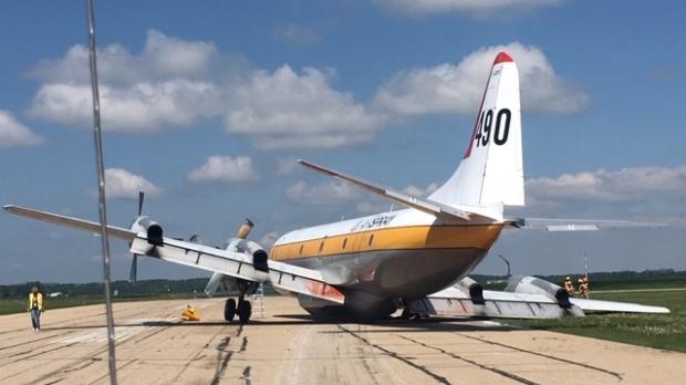 Plane makes emergency landing at Red Deer