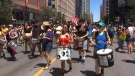 Thousands attend Dyke March
