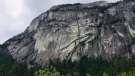 The Grand Wall area of the Stawamus Chief in Squamish. Source: Squamish RCMP