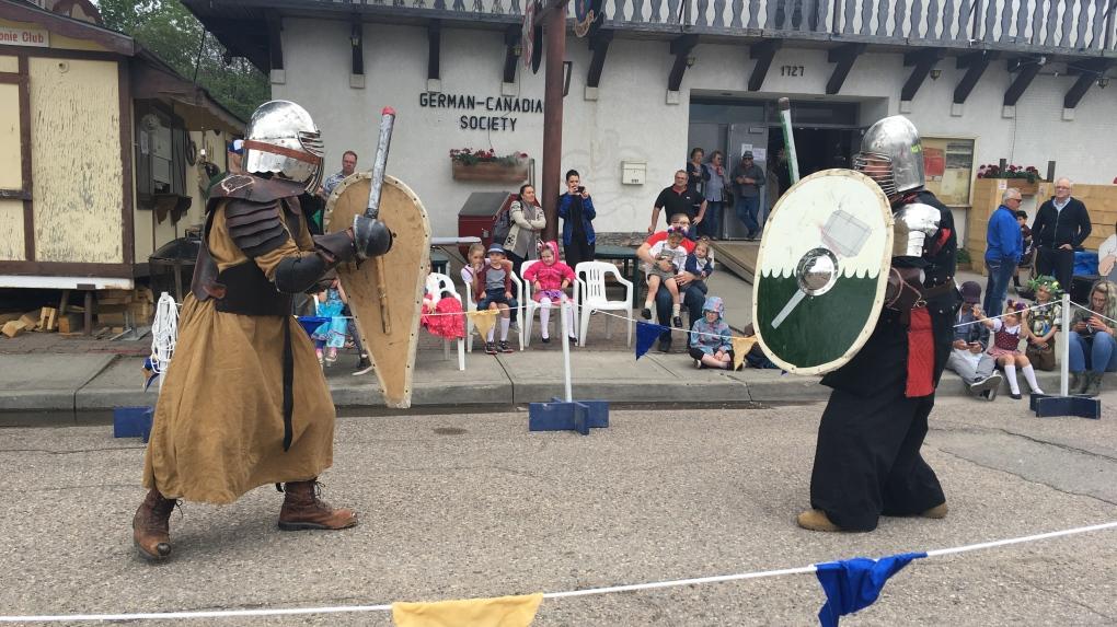 Northern European medieval traditions help celebrate beginning of summer