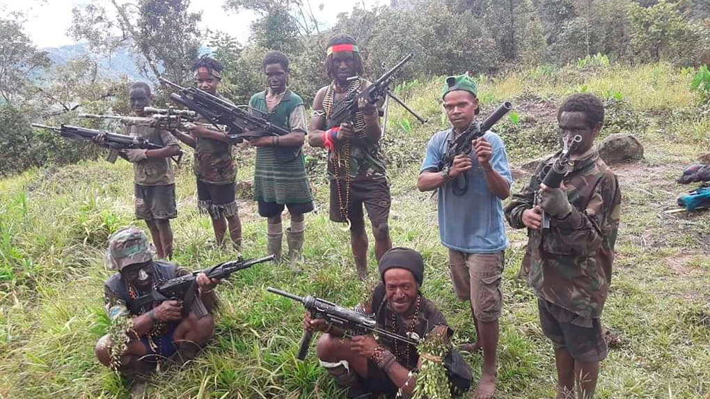 Underage fighters are drawn into Indonesian conflict