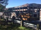 "Neighbours report ""explosions"" during bus fire at Lucas Secondary"