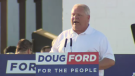 Ontario Premier Doug Ford speaks at the 2019 Ford Fest.