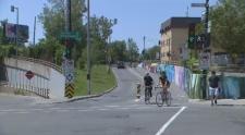 The de Maisonneuve bike path