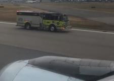 YVR emergency landing