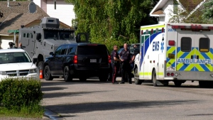 Police arrested one man in connection with a 'high-risk incident' in the community of Shawnessy on Sunday afternoon.
