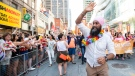 New Democratic Party of Canada Leader Jagmeet Singh takes part in the 2019 Pride Parade in Toronto, Sunday, June 23, 2019. THE CANADIAN PRESS/Andrew Lahodynskyj