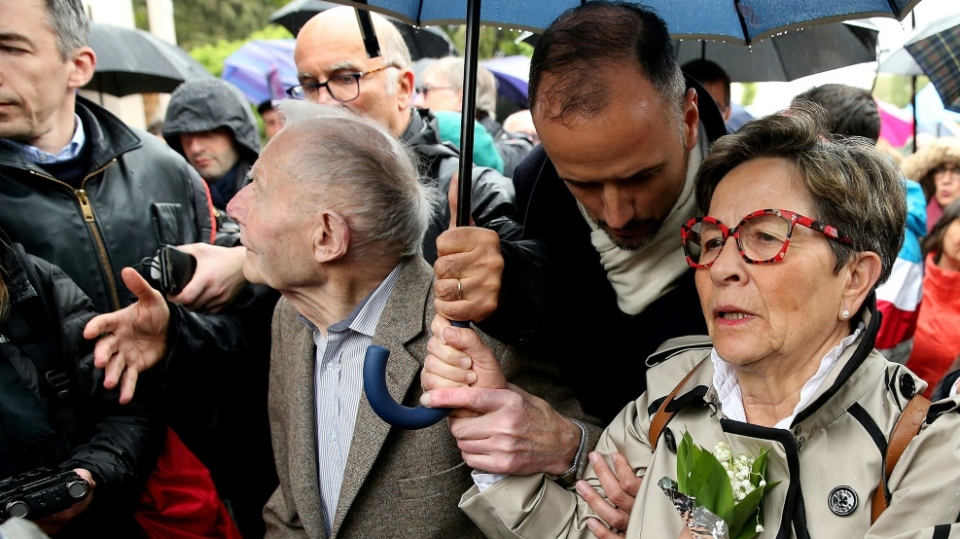 Vincent Lambert's parents, who are devout Catholics, have gone to Europe's top court to maintain his nutrition. (AFP)