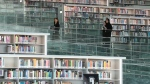 With more than one million books and 500,000 digital editions, Qatar's National Library is the largest in the Middle East. (AFP)