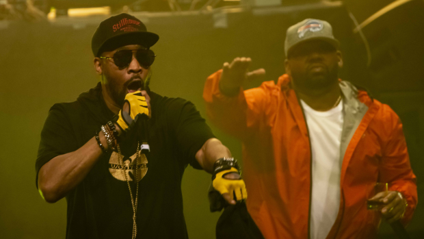 The Wu-Tang Clan plays the Queen Elizabeth Theatre on Sunday, June 23, 2019 as the headliners of the TD Vancouver International Jazz Festival. The iconic rap group was introduced by CTV's Marke Driesschen and supported by local artists Rup Loops, Ndidi Cascade and DJ Denise. (Anil Sharma)