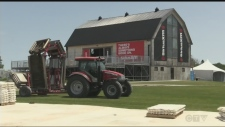 Preparations are underway in Oro-Medonte for The Rolling Stones' only Canadian tour stop next weekend.