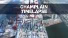 Final piece of Champlain Bridge span installed