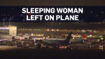 Air Canada investigating after woman left on plane