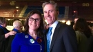 Alana Paon is pictured with Nova Scotia Progressive Conservative Leader Tim Houston in this undated photo. (Alana Paon/Facebook)