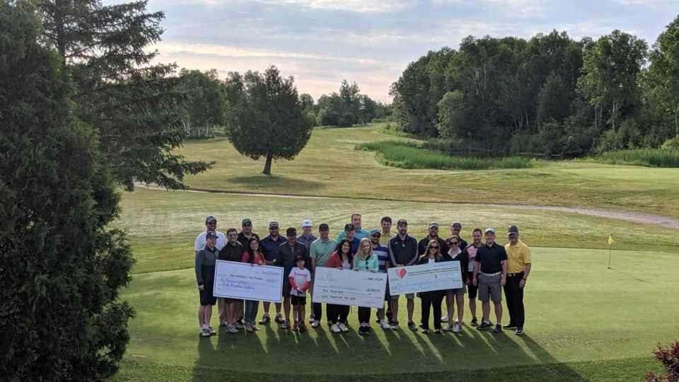 7th annual Golf Marathon in Sudbury (Molly Frommer/CTV Northern Ontario)